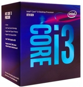 Intel i3-8100F 3.60GHz 6MB BOX