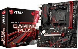 MSI B450M Gaming Plus AM4 DDR4 SATA3