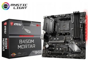 MSI B450M Mortar AM4 DDR4 SATA3