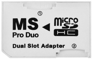 Adapter microSD MS Pro Duo