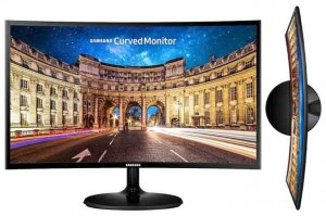 "Monitor Samsung 27"" F390 LED FullHD Curved"