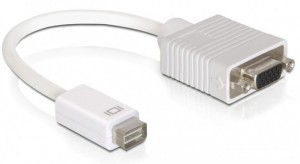 Adapter miniDVI do VGA DSUB