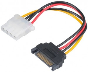 Adapter zasilania serial ATA SATA 4pin Molex