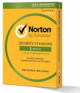 Antywirus Norton Security standard PL 1 device