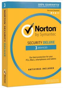 Antywirus Norton Security deluxe PL 3 devices