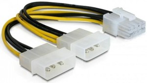 Kabel adapter zasilania Molex 8pin