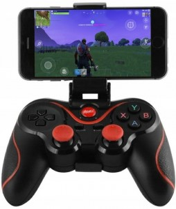 Gamepad kontroler z uchwytem do telefonu