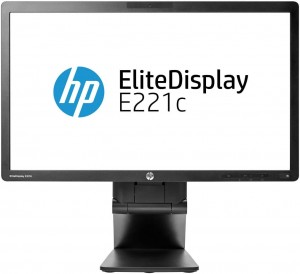 "Monitor HP E221C 22"" IPS LED 1920x1080"
