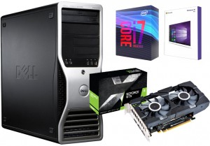 KOMPUTER DO GIER INTEL I7 GEFORCE 1650 32GB SSD250