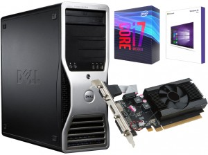 KOMPUTER DO GIER INTEL I7 GEFORCE 2GB RAM 32 SSD