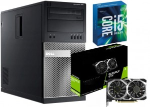 KOMPUTER DO GIER INTEL I5 GEFORCE 1650 SUPER 16GB