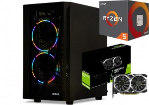 KOMPUTER DO GIER RYZEN 5 3600 GTX1650 Super 960GB 16GB
