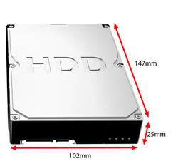 wymiary HDD