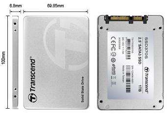 wymiary SSD